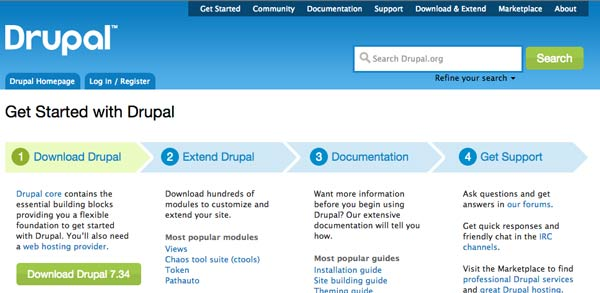 type de champ date drupal 7 installer